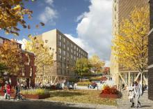 SiO har vedtatt utbyggingen av 310 studentboliger på Lillestrøm