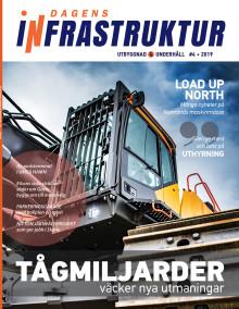 Nya numret av Dagens Infrastruktur nr 4 2019 ute nu!