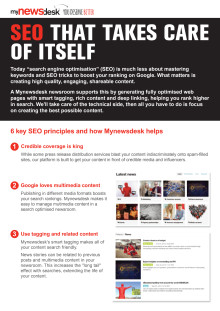 6 key SEO principles and how Mynewsdesk helps