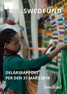 Swedfund delårsrapport per den 31 mars 2019
