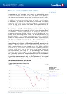 Makrorapport april 2018: FRYKT FOR HANDELSKRIG SKREMMER BØRSENE