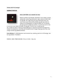 Vårliste 2013 Samlaget_gjeldande