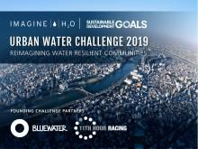 Bluewater och 11th Hour Racing utlyser den andra årliga upplagan av Urban Water Challenge, där vinnande entreprenör belönas med upp mot en miljon dollar