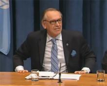 WaterAids fd ordförande Jan Eliasson manar till fokus på toaletter