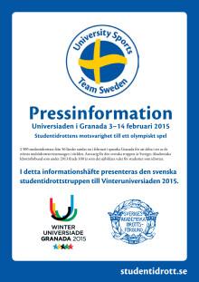 Pressinfo Vinteruniversiaden 2015