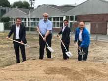 Ground-breaking ceremony marks the start of construction of a 10 mw battery storage project in Bordesholm