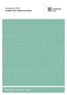 Ordbok för stadsutvecklare