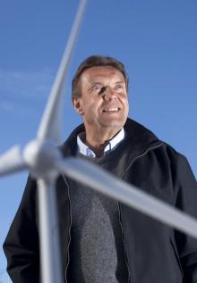 Vindkraftverk med smart teknik byggs på Granberget