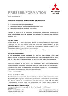 Pressemappe ASX MY19
