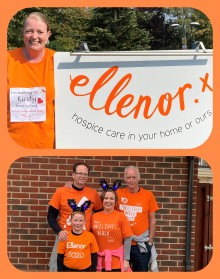 ellenor hospice says big thank you for continued support during covid