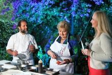 Statsministeren laget fredagstaco med norsk sjømat i Mexico