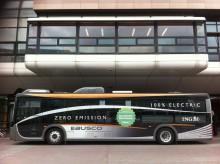Elbuss på Cityterminalen