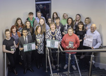 Mid and East Antrim's young leaders start journey to learn about Srebrenica Genocide