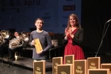 Bjergsted Blåseensemble vant Komponistforeningens hederspris under NM janitsjar 2019