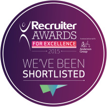 Finegreen Associates shortlisted as finalists for Recruiter of the Year Awards for Excellence - Agency of the Year 2015