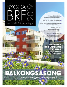 Nya numret av Bygga Brf nr 3 2019 ute nu!