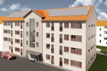 Wästbygg bygger bostäder åt CA Fastigheter i Jönköping