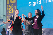 It was a tie – GEDEA and SIGRID both win the Startup Challenge Award at Nordic Life Science Days 2018