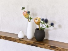 Des décorations intemporelles pour votre intérieur : Collier, un design en relief mat inspiré des perles et des bijoux