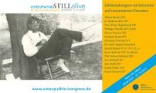 Star-Osteopathen und neueste Osteopathie-Studien / 20. internationaler Osteopathie-Kongress des VOD vom 29.09. – 01.10.2017 in Bad Nauheim