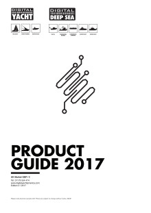 Digital Yacht 2017 UK Price List and Product Guide