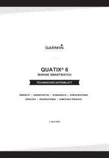 Datenblatt Garmin quatix 6