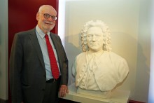 Ton Koopman wurde zum Präsidenten der Stiftung Bach-Archiv Leipzig ernannt