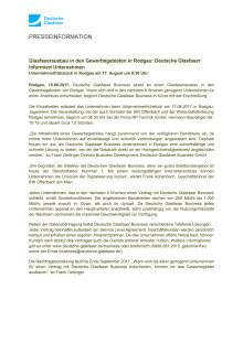 Glasfaserausbau in den Gewerbegebieten von Rodgau und Rödermark: Deutsche Glasfaser informiert Unternehmen