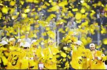 Sverige världsmästare i ishockey för andra året i rad!