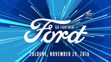 """Ford løfter sløret for ny Fiesta ved """"Go Further"""" event den 29. november 2016"""