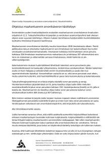 Maahantuonnin arvonlisäveron ilmoittamisessa puutteita - ohje käsittelyyn