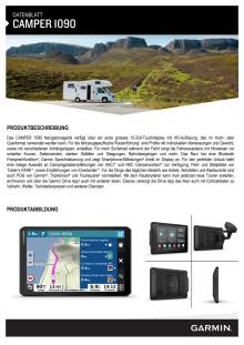 Datenblatt Garmin Camper 1090 MT-D