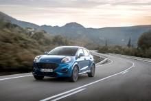 Nový crossover Ford Puma s atraktivním designem a největším zavazadlovým prostorem v segmentu přijíždí na český trh