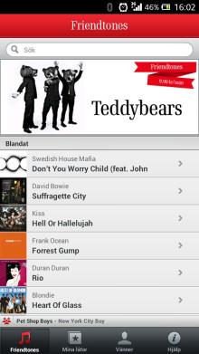 Om din vän vore en låt? – nu lanseras Friendtones som app