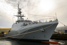 HMS Spey named at shipyard ceremony