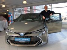 Nye Toyota Corolla Hybrid er klar for Bodø