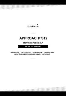 Fiche Technique: Approach S12