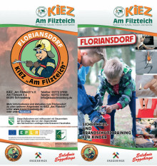 "Flyer Floriansdorf KiEZ ""Am Filzteich"""