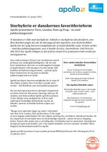 Storbyferie er danskernes favoritferieform