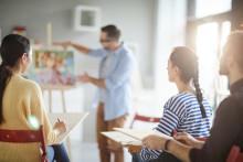 Ohållbara arbetsvillkor för gymnasielärarna