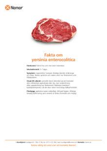 Fakta om yersinia enterocolitica