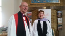 Rev Elizabeth Chapman commissioned as chaplain of ellenor