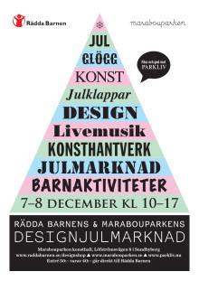Designjulmarknad på Marabouparken konsthall 7-8 dec