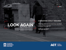 Police reminder that public vigilance can beat terrorism