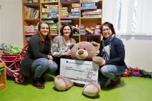 Restcentaktion und Firmenspende: Max Bögl übergibt 2.000 Euro an Bärenherz