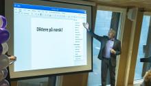 Microsoft lanserer tale-til-tekst på norsk