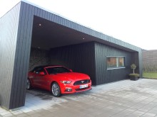 Med den nye Mustang rundt i Nordjylland for en weekend