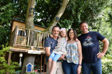Winner of Center Parcs UK's Top Treehouse Competition revealed
