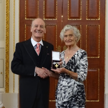 Mrs Audrey Broad has been awarded the 'Order of Mercy' for distinguished voluntary service