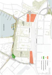 Illustration över stadsdelsvision Viken (Bild: 02Landskap)